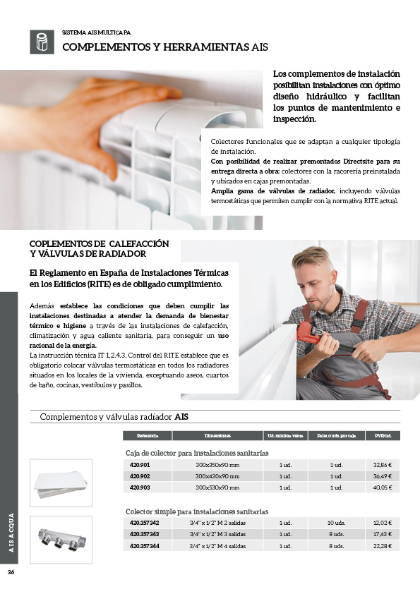 Soluciones innovadoras de fontanería y climatización36