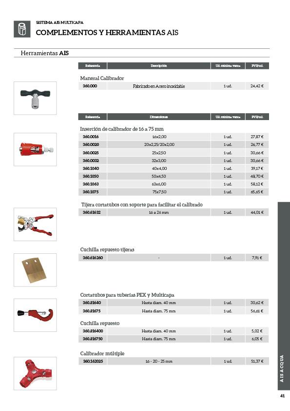 Soluciones innovadoras de fontanería y climatización41