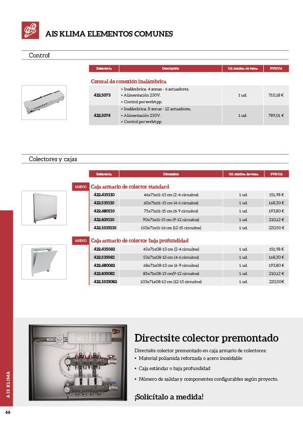 Soluciones innovadoras de fontanería y climatización66